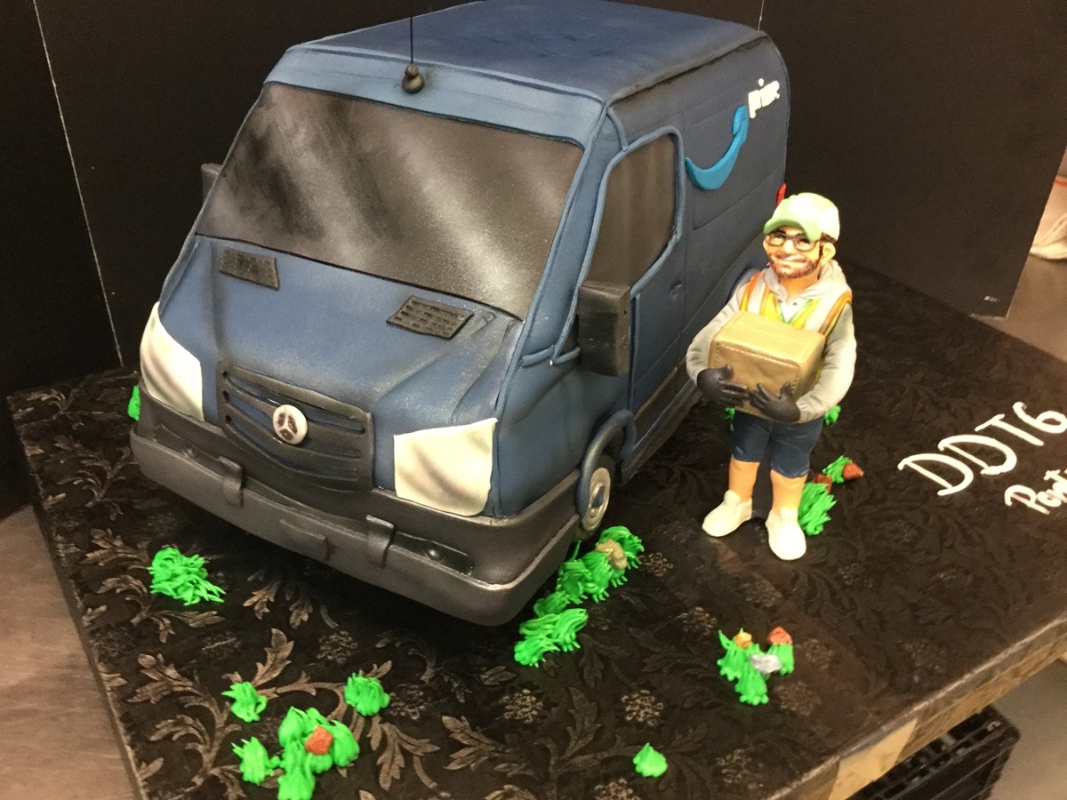 Christine's Cakes & Pastries - Amazon Delivery Truck _ Man_part3