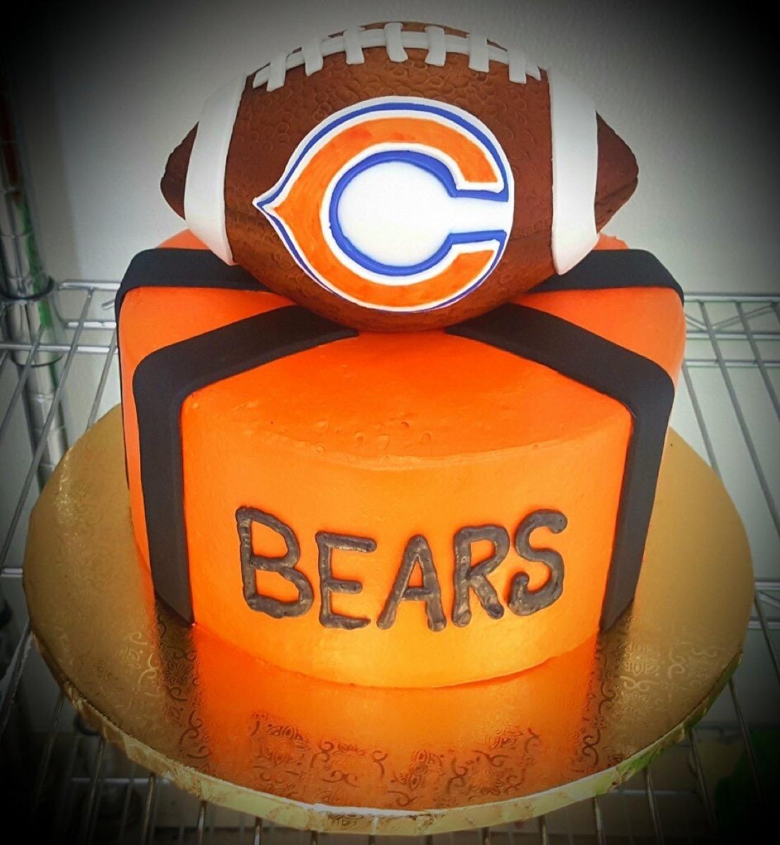 Christine's Cakes & Pastries - Football Cake_Bears