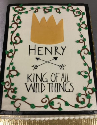 Christine's Cakes & Pastries - King of all Wild Things