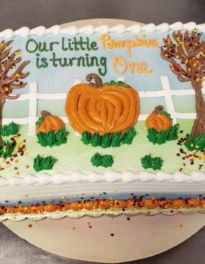 Christine's Cakes & Pastries - Our Little Pumpkin in Turning 1