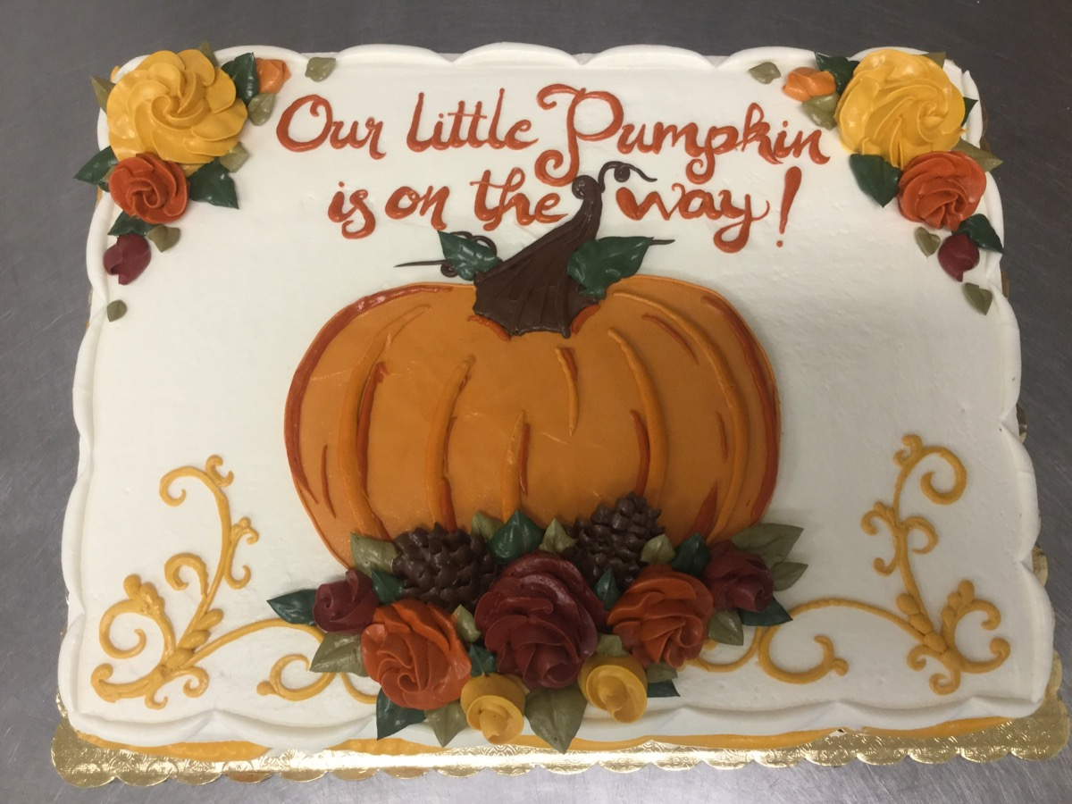 Christine's Cakes & Pastries - Our Sweet Little Pumpkin