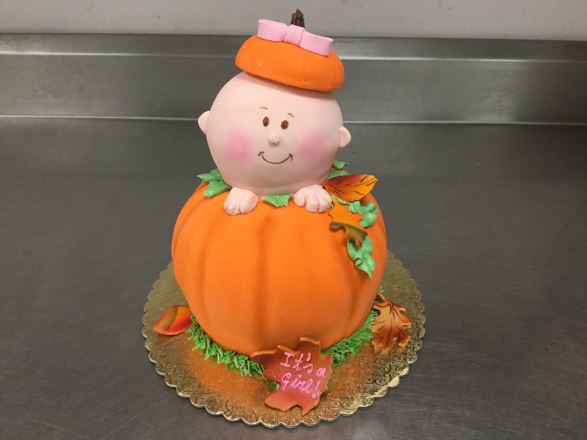 Christine's Cakes & Pastries - Pumpkin Baby