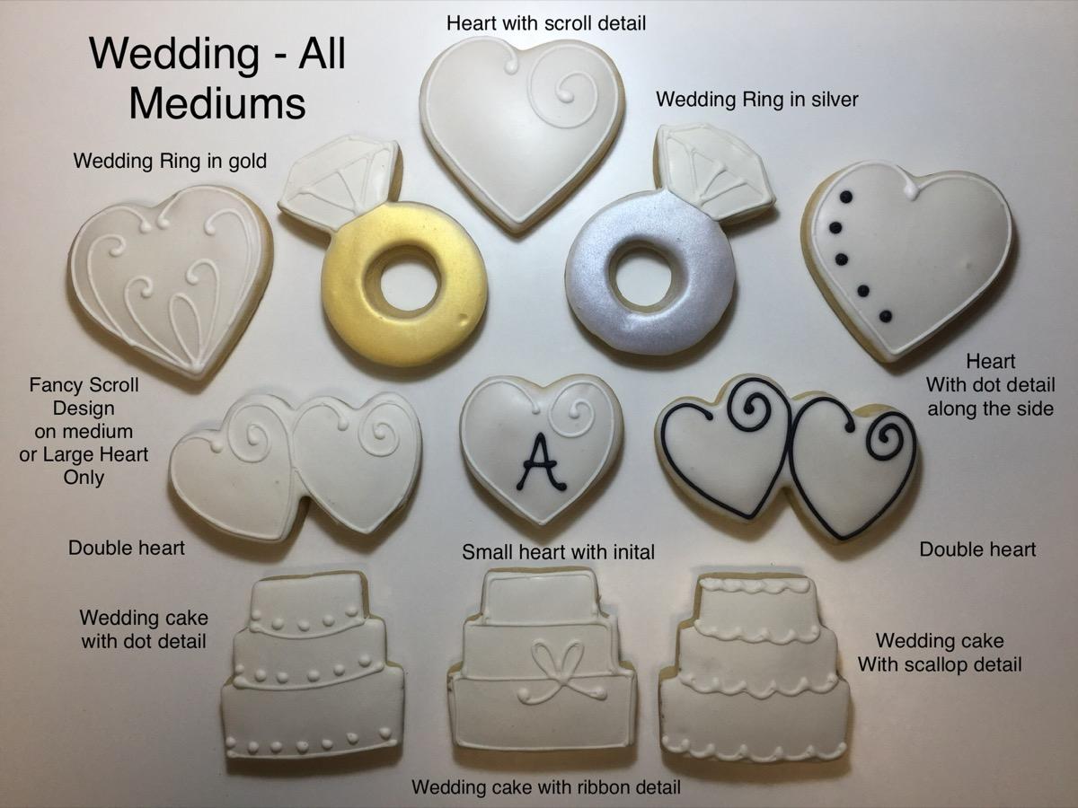 Christine's Cakes & Pastries - Wedding Theme(all sizes)