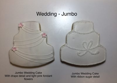 Christine's Cakes & Pastries - Wedding Jumbo Butter Cookies