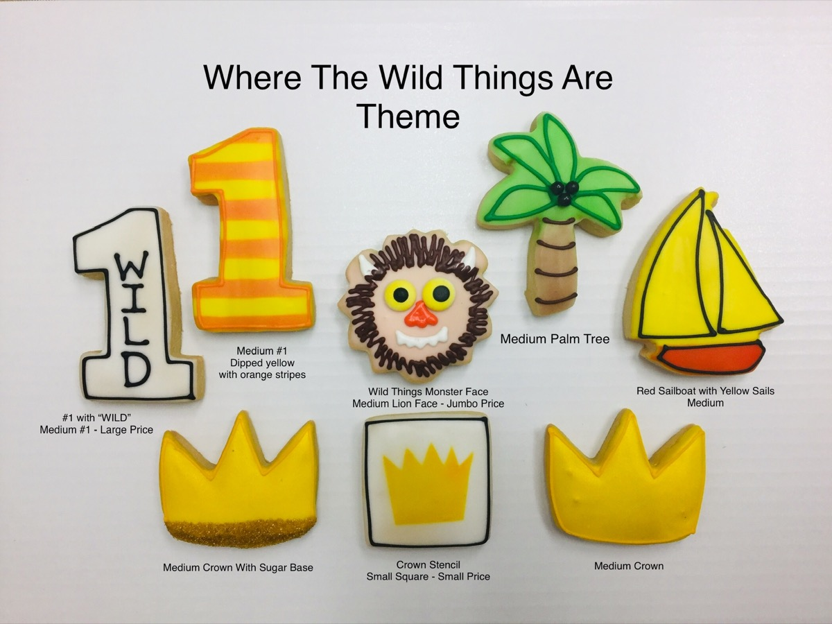 Christine's Cakes & Pastries - Where The Wild Things Are Theme(all sizes)