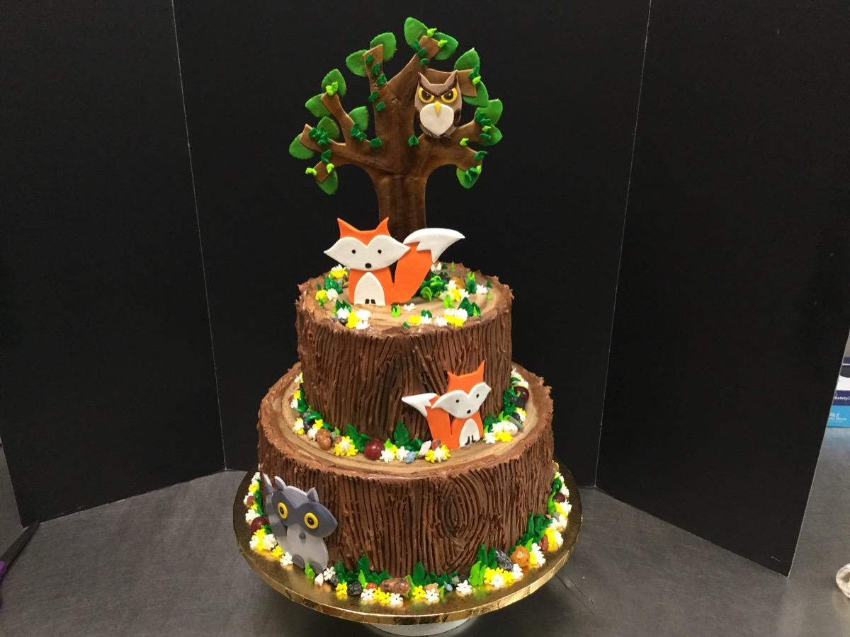 Christine's Cakes & Pastries - Wilderness Theme (Baby)#2