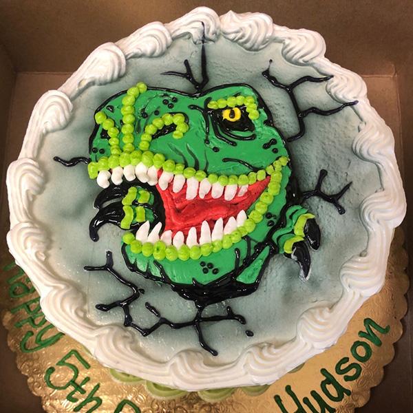 Christine's Cakes & Pastries - Hand Drawn Cakes