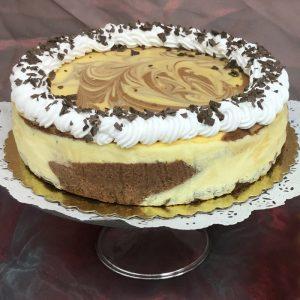 Christine's Cakes & Pastries - Chocolate Swirl Cheesecake